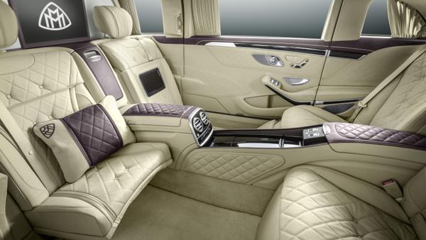 Ultimativni Mercedes za kralje in predsednike