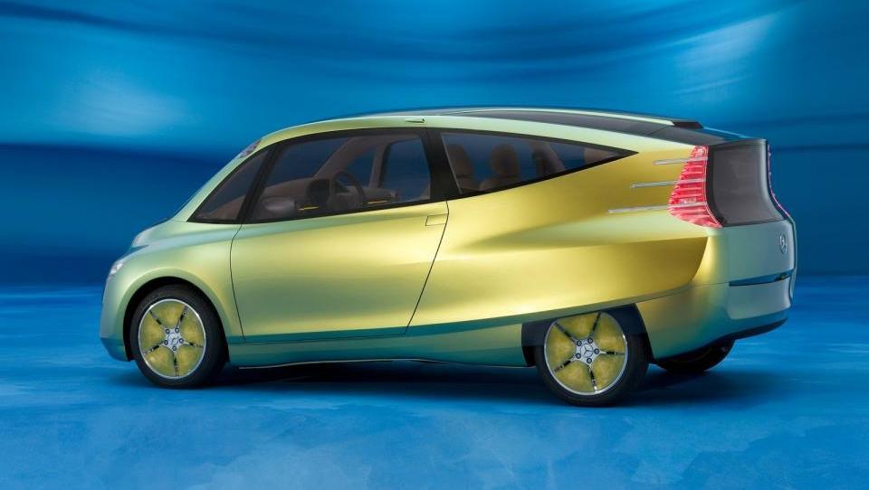 Bionični avti: Mercedes, ki posnema morsko škatlasto ribo