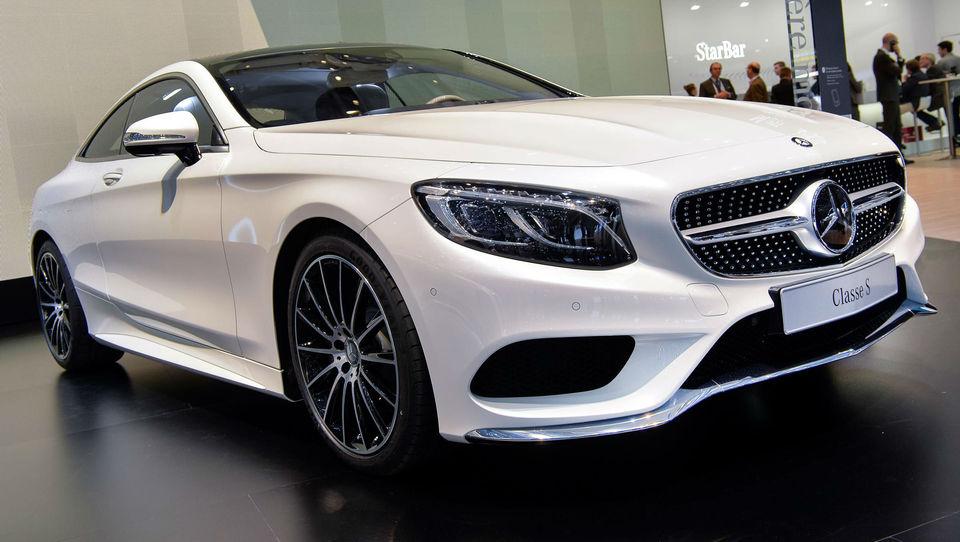 Vroče ženevske novosti - Mercedes S coupe