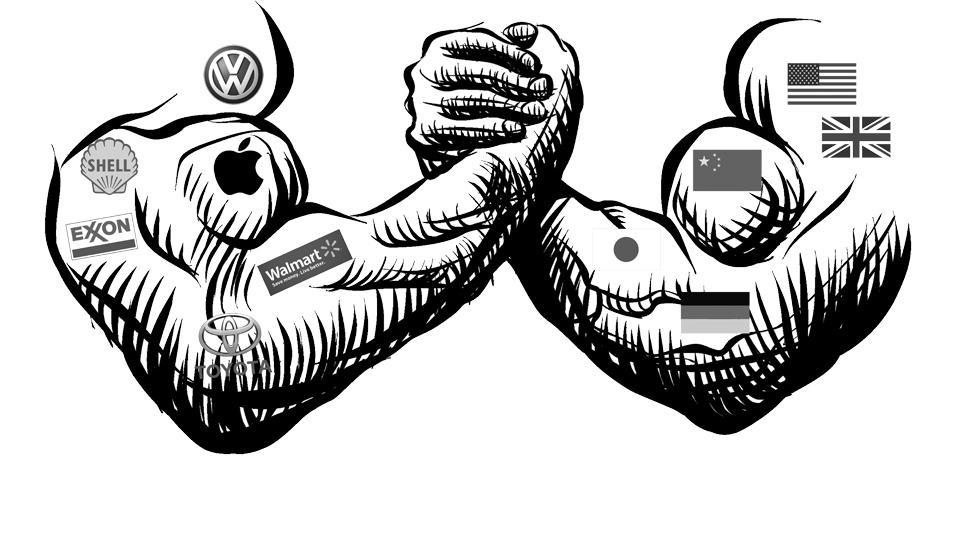 Kako finančna moč korporacij kreira politične odločitve in ali nas mora to skrbeti