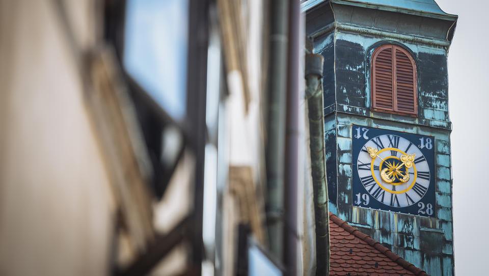 Rotovška ura – prenovljena za 300. rojstni dan