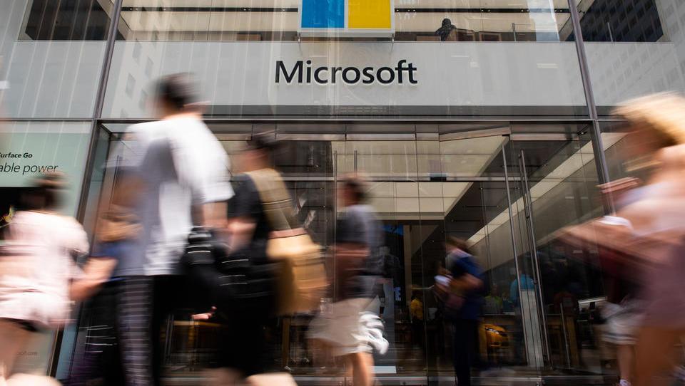 Najboljše leto za Microsoft