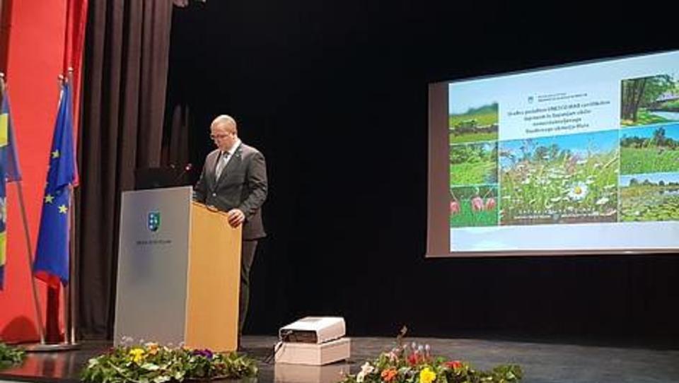Minister Leben predlagal ustavitev DPN za elektrarne na Muri