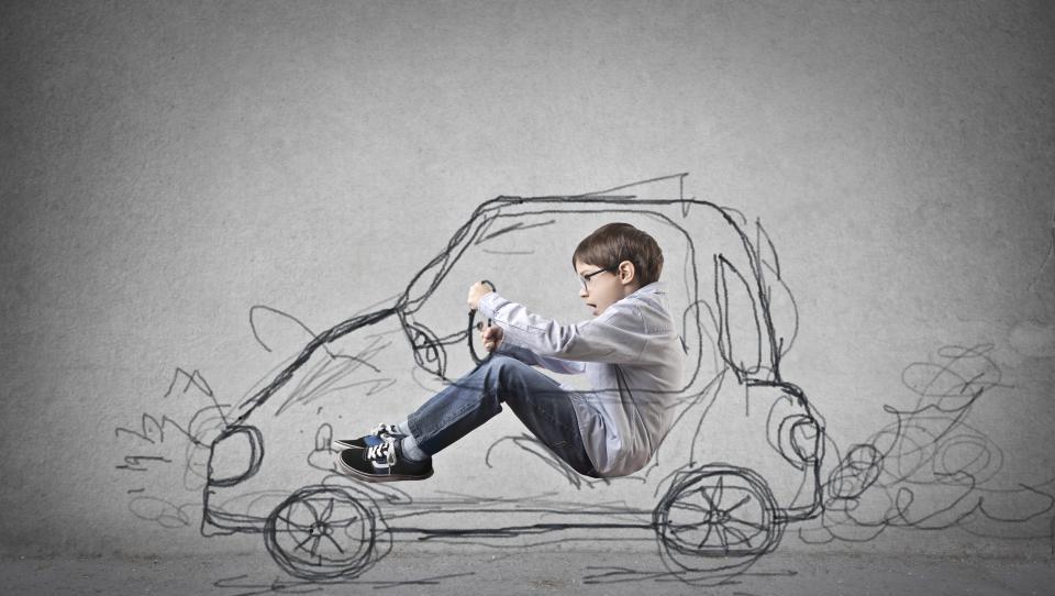 Najstnik želi avto, ne bi pa delal!
