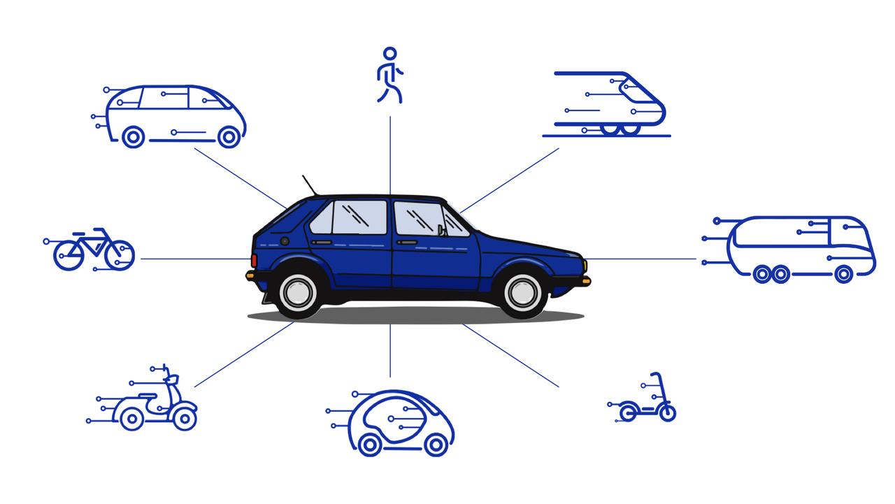 Prihodnost transporta v mestih: lastniški avto je slaba izbira za večino poti. Kaj je bolje?