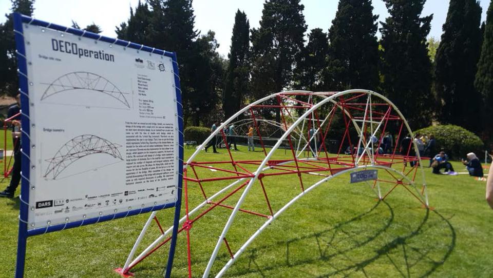 Mariborski študenti v Turčiji postavili drugi najbolj trden most