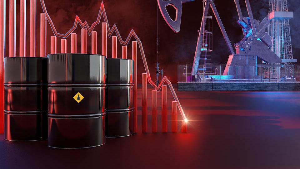 Zgodovinsko: Cena za sod ameriške nafte WTI z dobavo v maju krepko pod ničlo