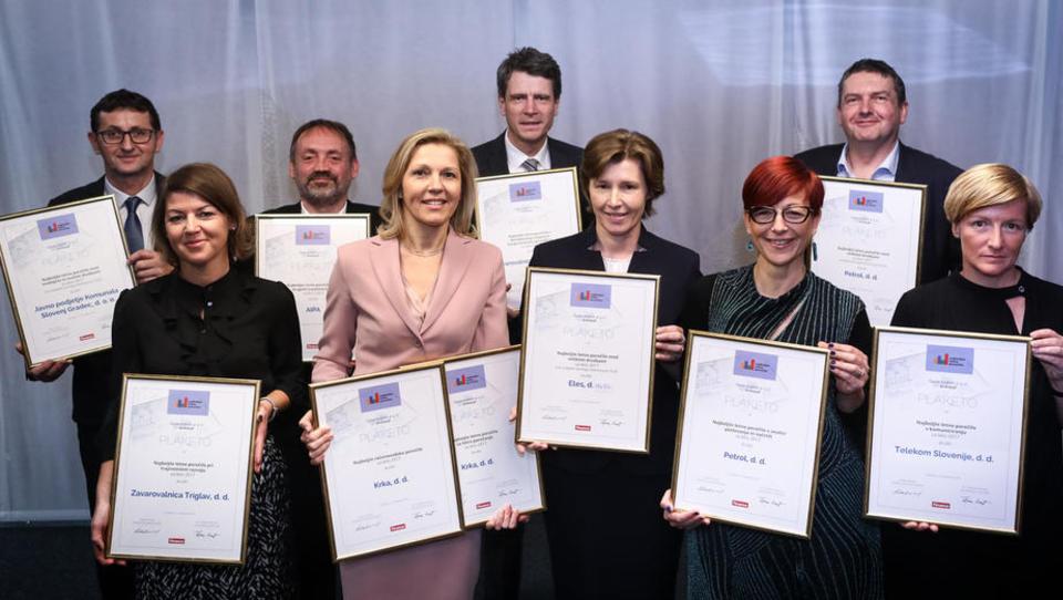 Najboljša letna poročila za leto 2017 imajo: Petrol, ELES, Javno podjetje Komunala Slovenj Gradec in AIPA