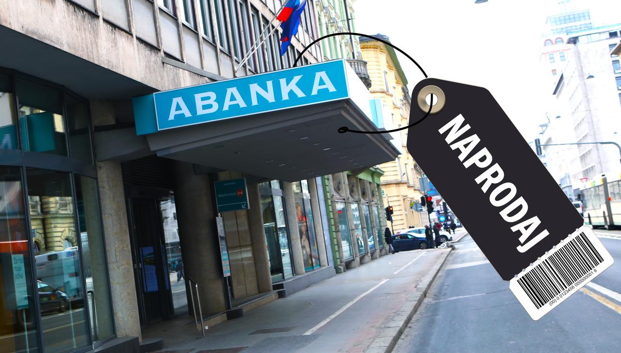 Abankin dobiček za četrtino manjši kot v prvem lanskem četrtletju. Bo banka danes prodana?