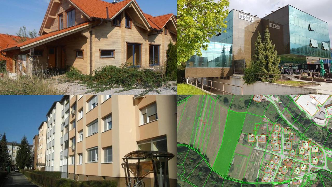 TOP dražbe: Stanovanji v Ljubljani in Piranu, hotel v Lendavi, stavbna zemljišča, apartmaji pod Pohorjem ...