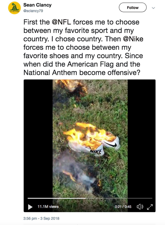 Kako je Nike razkuril Trumpa in povečal vrednost podjetja  166cbe012f3