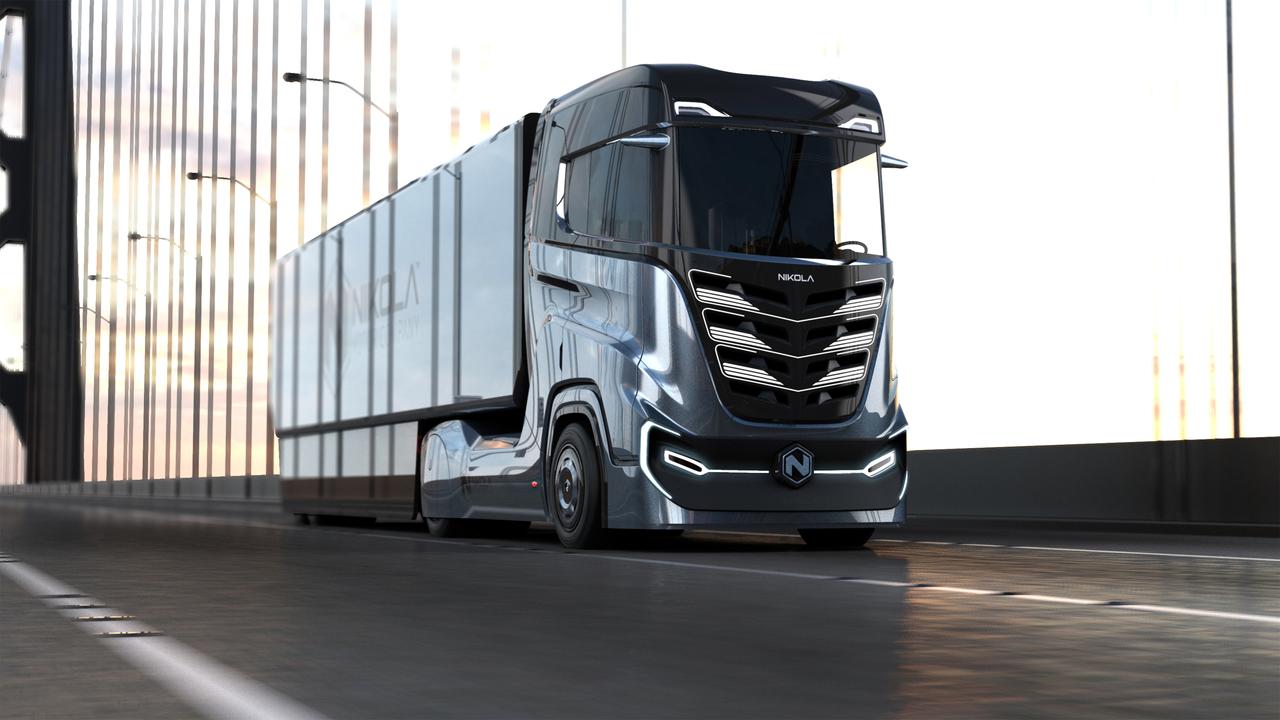 To je ameriški tovornjak na vodikovo gorivo za Evropo