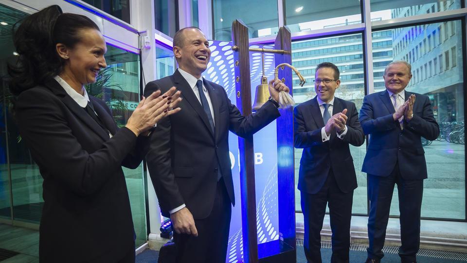 NLB v Ljubljani trgovanje končala pri +10%, v Londonu se trguje po +12%