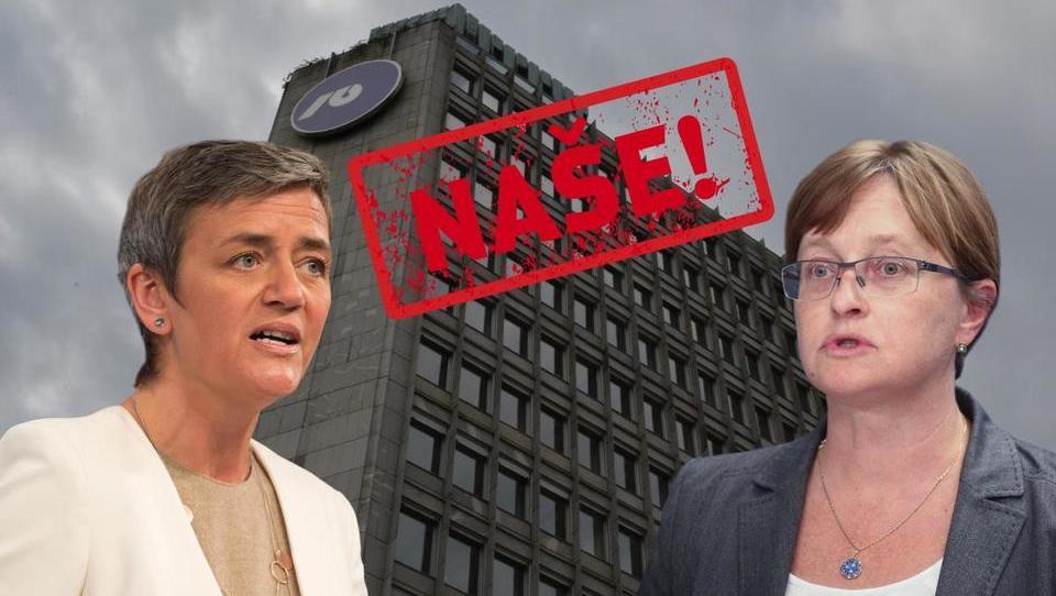 Vraničarjeva spet v Bruslju: kdaj bo morala vlada prodati NLB?