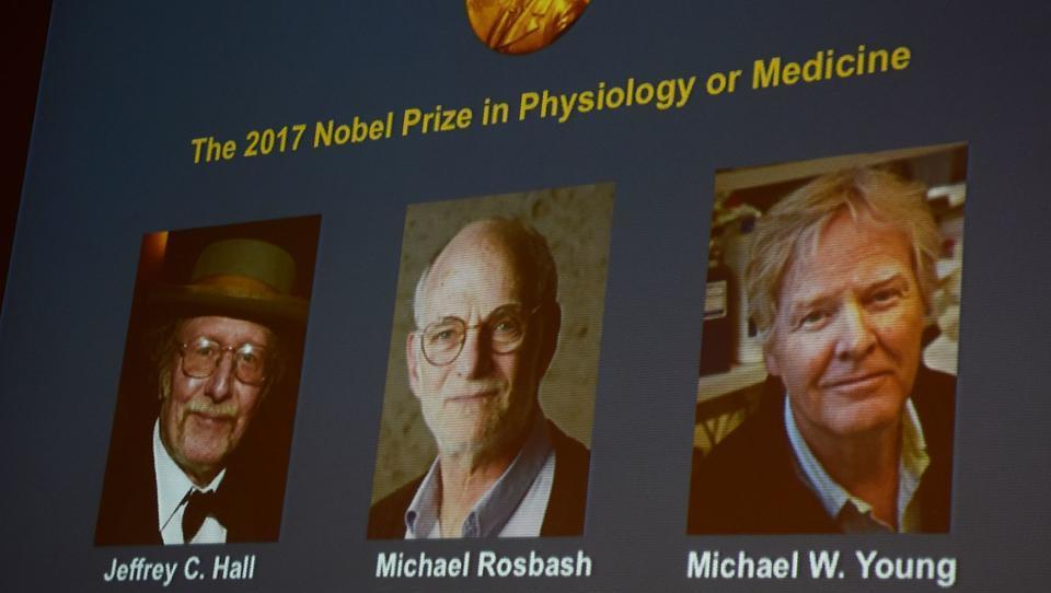 Nobelova nagrada za medicino v roke raziskovalcem notranje biološke ure