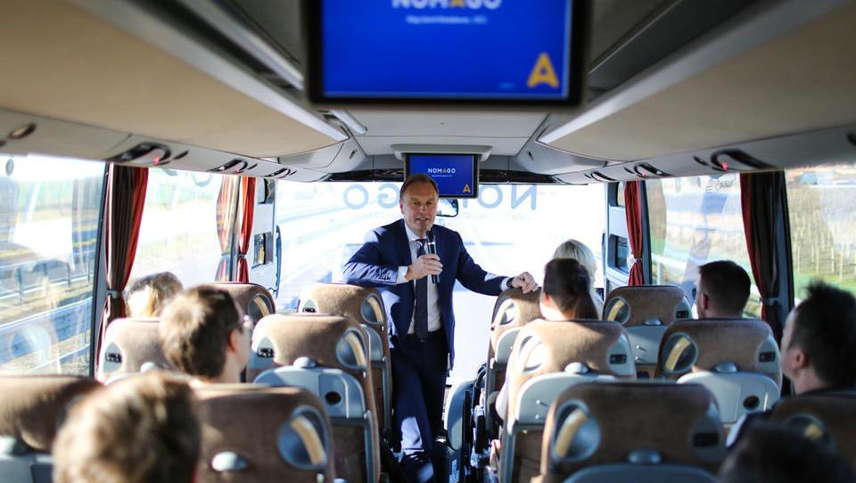 Nomago v Italiji prevaža nogometaše, turiste, potnike v javnem prometu in napoveduje nove prevzeme na tem trgu