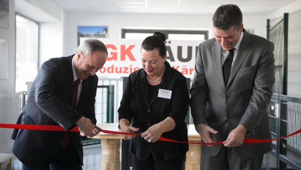 Ograje Kočevar v Avstriji odprle proizvodno podjetje