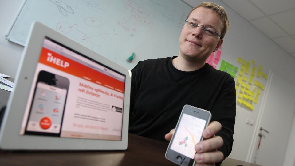 Mobilna aplikacija skrajša čas reševanja in poveča možnost preživetja