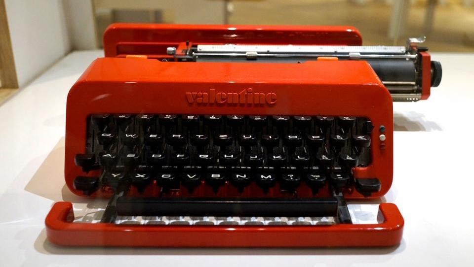Tržno neuspešni pisalni stroj, ki je postal dizajnerjska ikona
