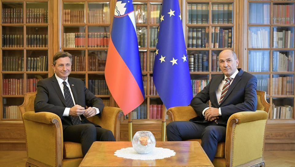 Pahor Janši dal teden dni časa za odgovor, ali sprejema mandatarsko kandidaturo