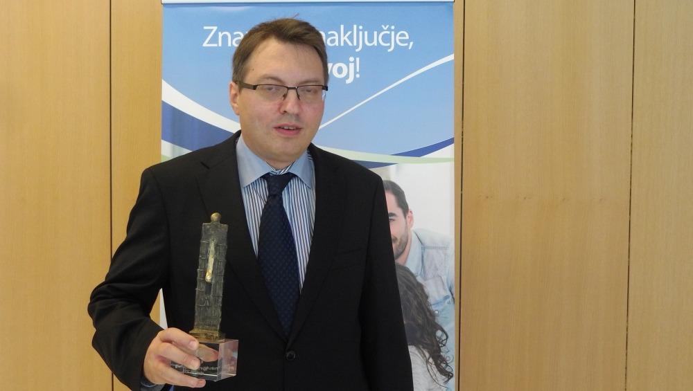 Informatik leta 2019 je Edmond Pajk s Zpiza