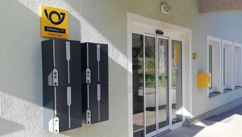 Korona podžiga avtomatizacijo: Pošta bo namestila 450 paketnikov