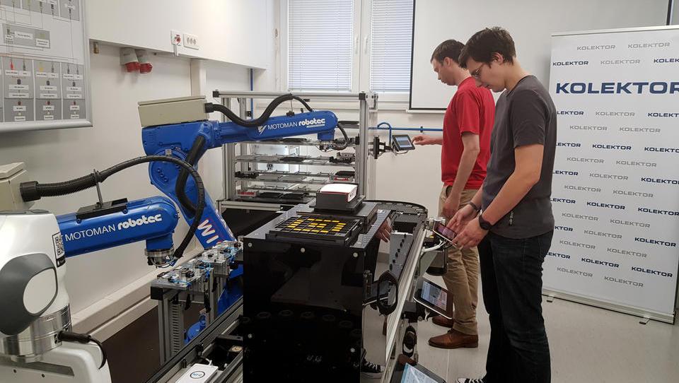 V pametni tovarni le s klikom do oblikovanja in izvajanja optimalnega proizvodnega plana