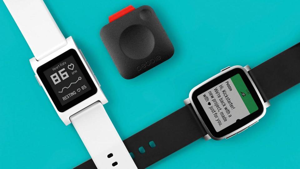 Pametne ure na Kickstarterju: Pebble spet prišel po milijone množic