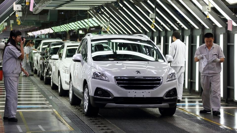Francoski PSA gradi že četrto tovarno na Kitajskem