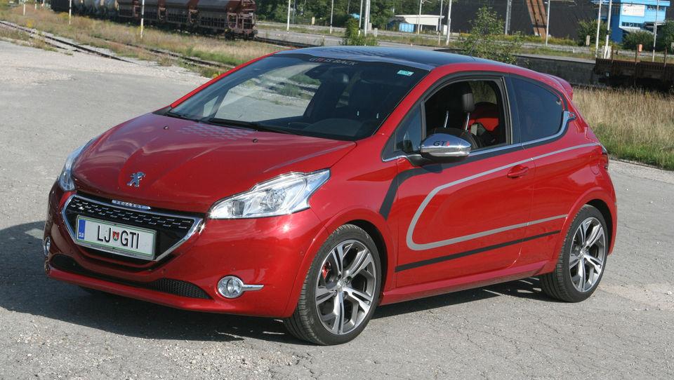 Petmestna številka za Peugeot GTI