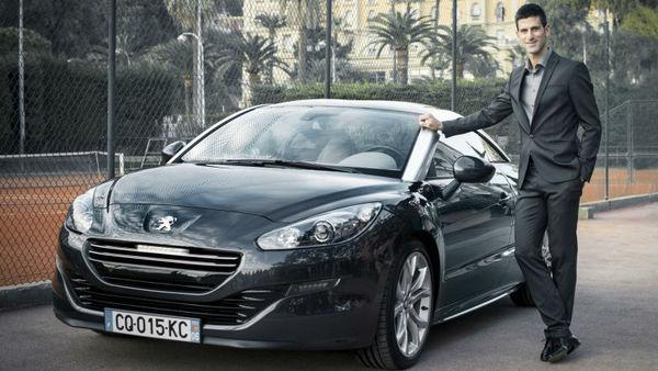 Novak Đoković ambasador Peugeotovih vozil
