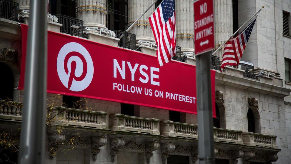 Pinterest ocenili na 10 milijard dolarjev, bolje od previdnih pričakovanj