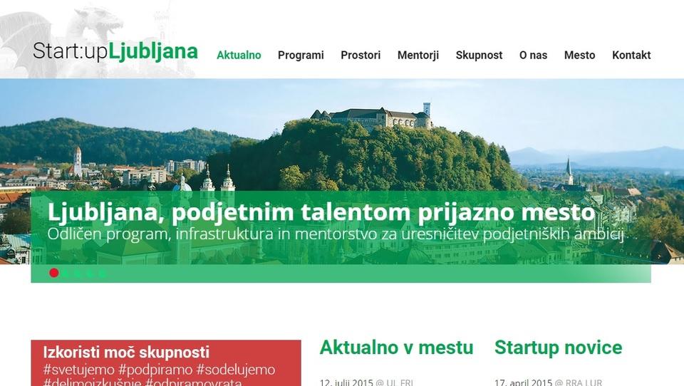 Ljubljana s platformo za aktiviranje podjetniških talentov