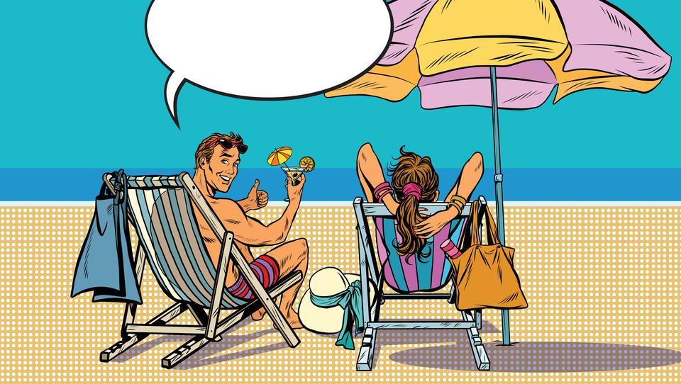 6 predlogov, kako služiti, medtem ko ležite na plaži