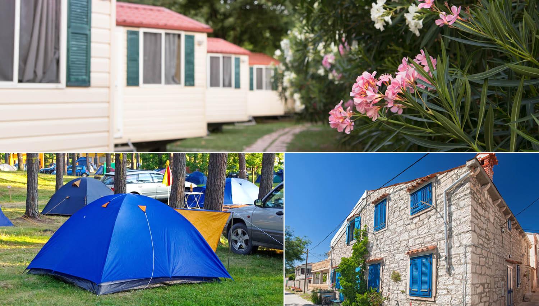 (video) Kaj je dražje - kampiranje, najem mobilne hiše ali apartmaja?