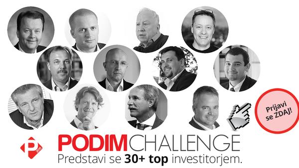 Bi svojo poslovno idejo radi predstavili  top svetovnim investitorjem?