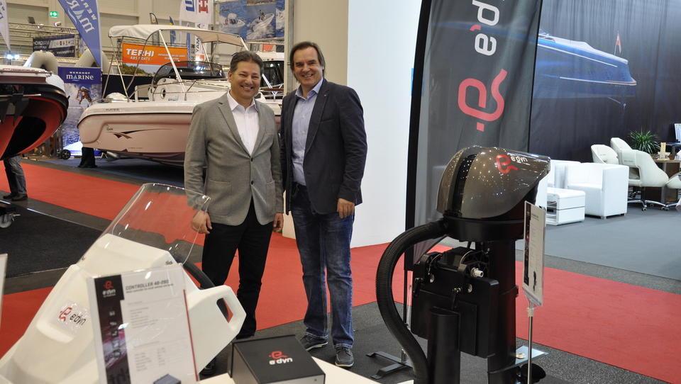 E-mobilnost v navtiki: Podkrižnik v Avstriji predstavil električni pogonski sistem za plovila e'dyn