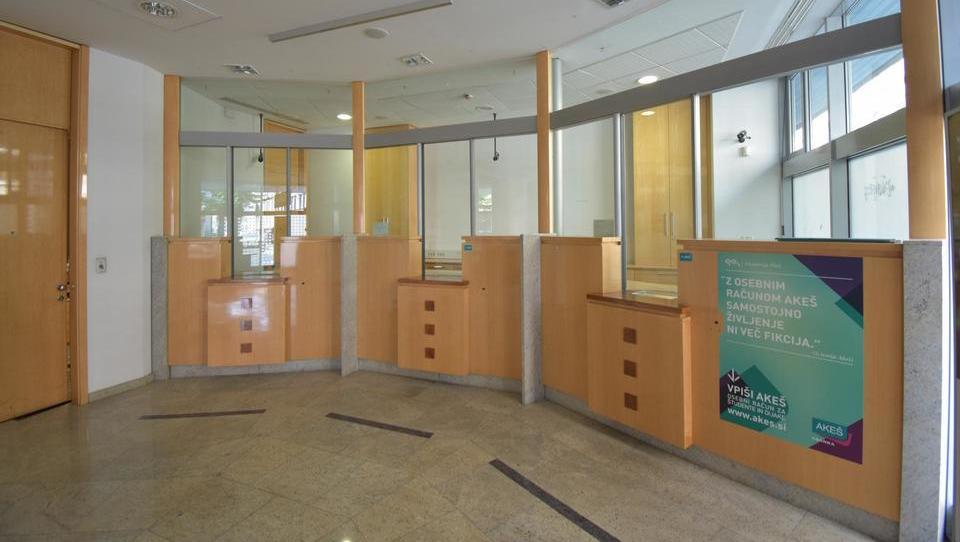 (Nepremičnina tedna) Prostori nekdanje bančne poslovalnice v Ljubljani