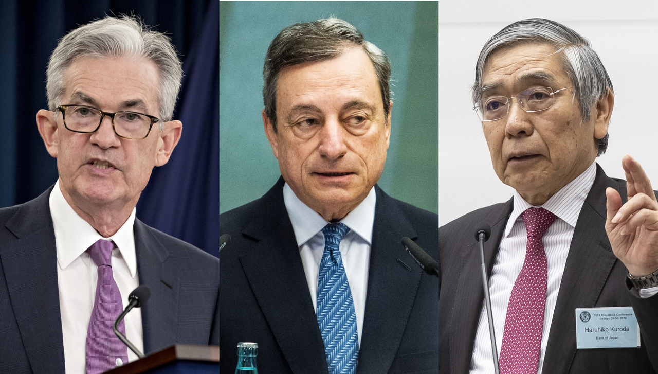Kaj bodo konec tedna skuhali šefi svetovnih centralnih bank