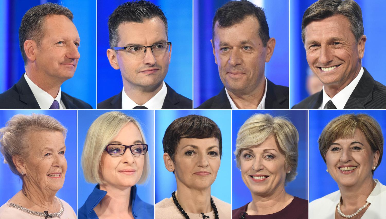 Zadnje ure za predčasno glasovanje o predsedniku - kaj morate vedeti o kandidatih?
