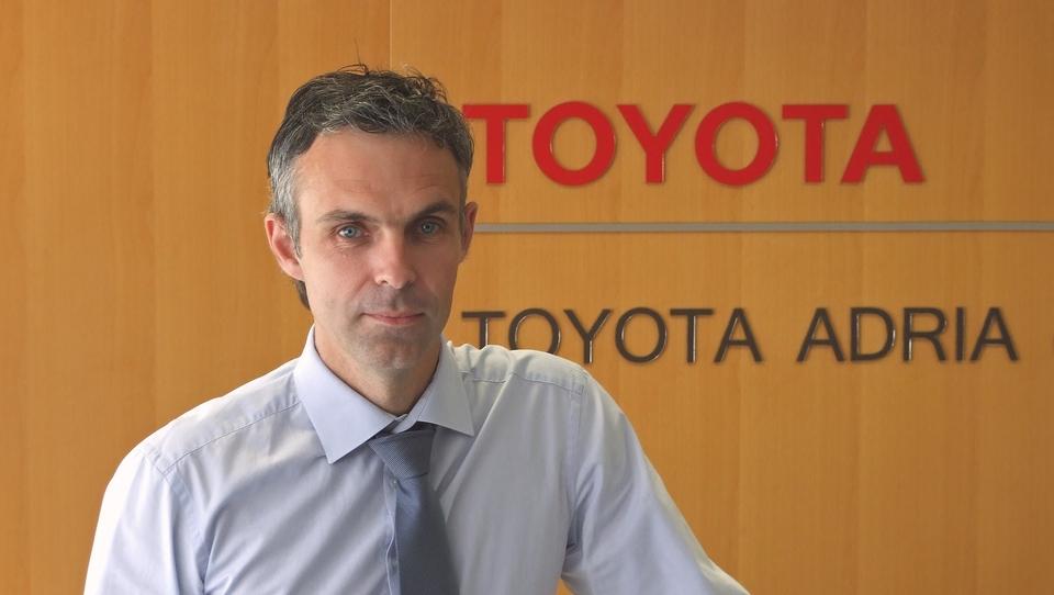 Menjava na vrhu slovenske Toyote