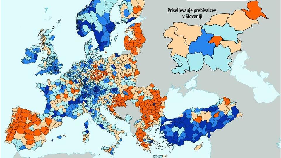 EBRD: V Evropi vse več čezmejnega preseljevanja, vse več starih in vse bolj prazno podeželje