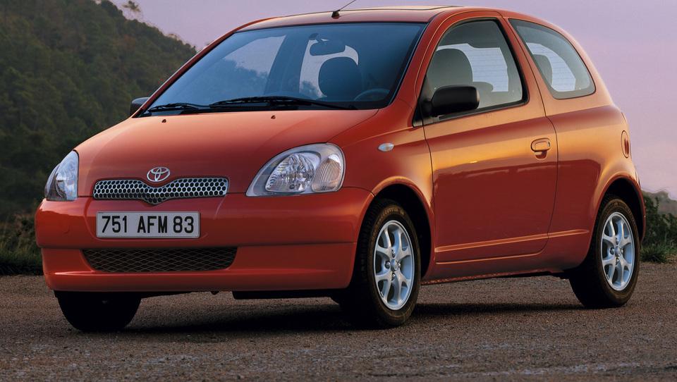 Toyota yaris 2001 in 2016 - tri milijone vozil in krepke razlike