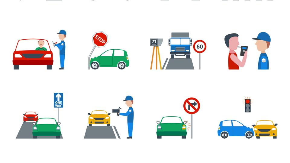 Za norenje po cestah več kot dva tisočaka