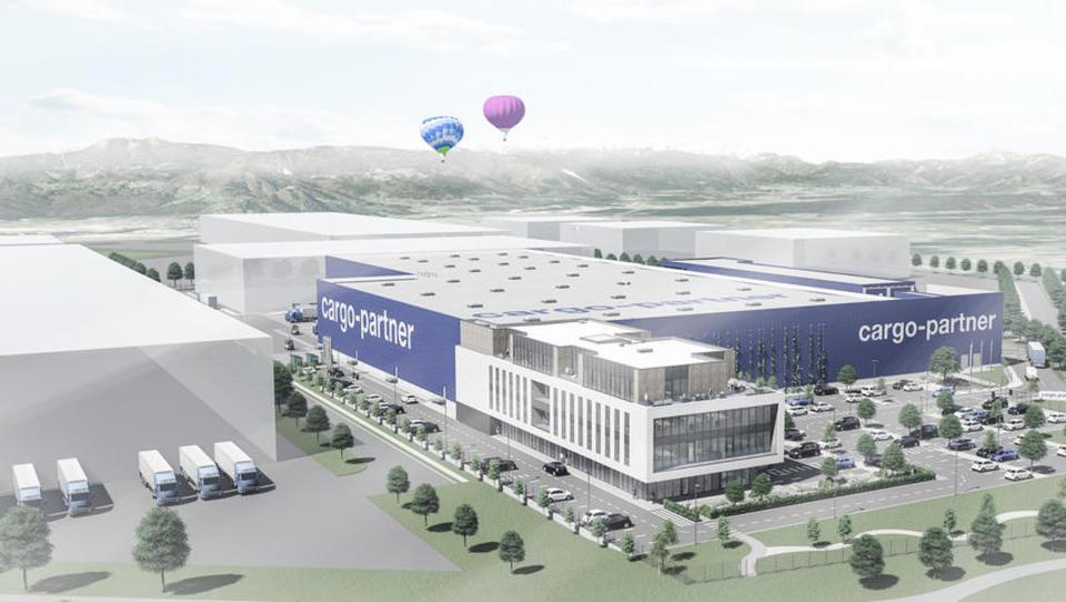 Takšen logistični center bo za 25 milijonov evrov zrasel na Brniku