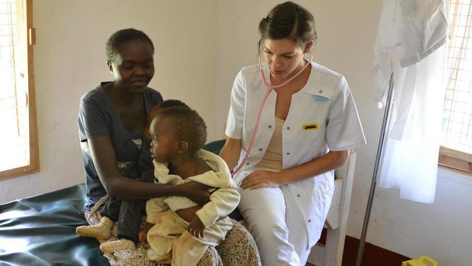 Za dopust na humanitarno zdravniško odpravo