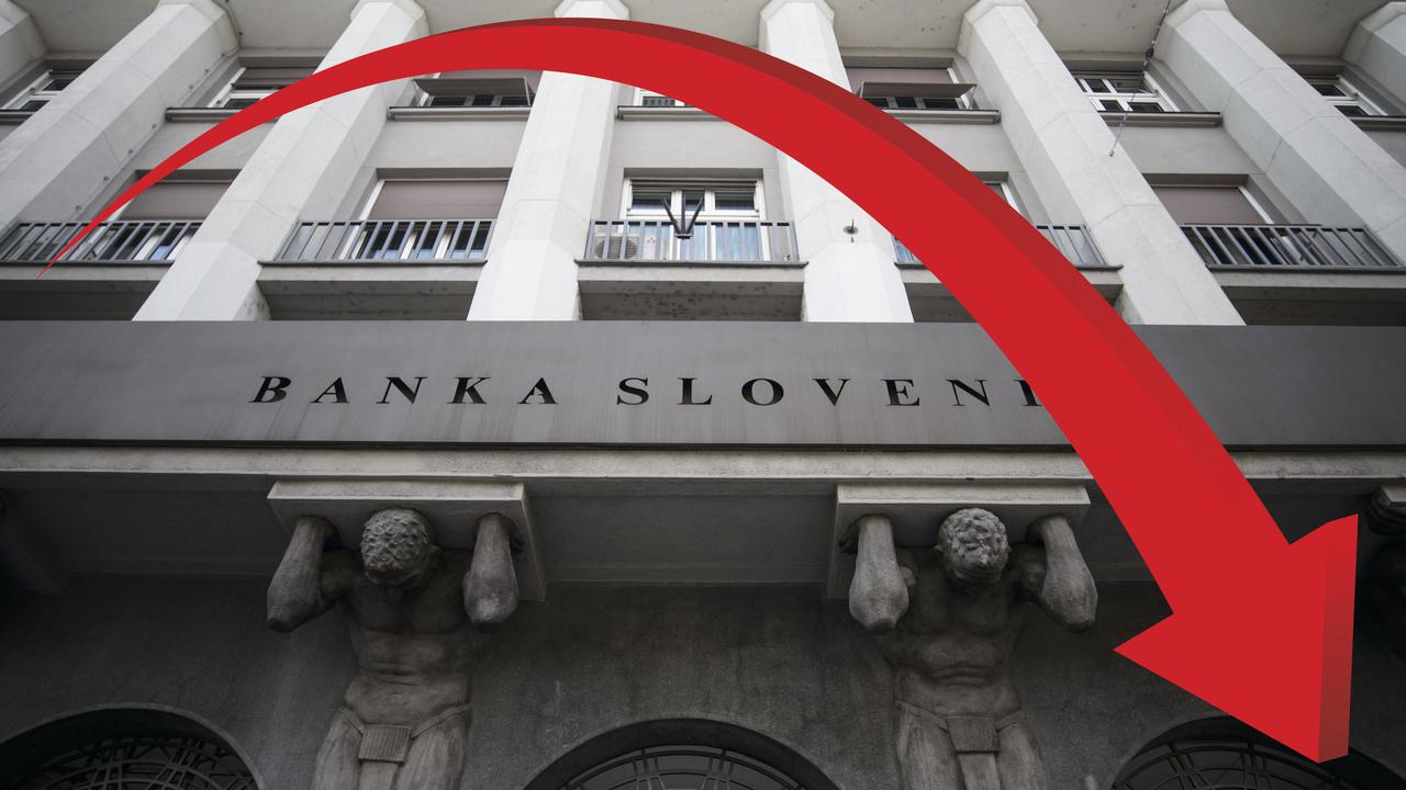 Banka Slovenije: Slovenski BDP bi lahko upadel za 6 do 16 odstotkov
