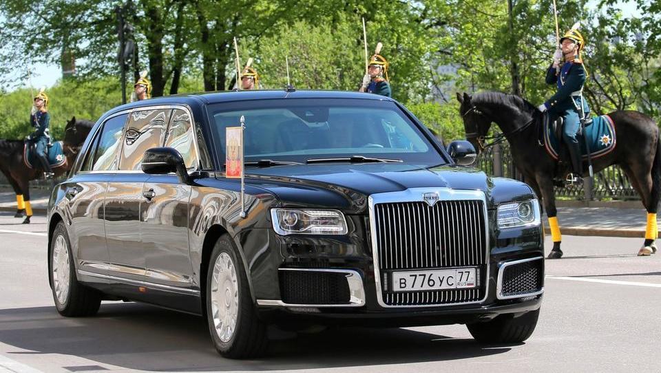 V Putinovi predsedniški limuzini kovani aluminijevi deli iz Slovenske Bistrice