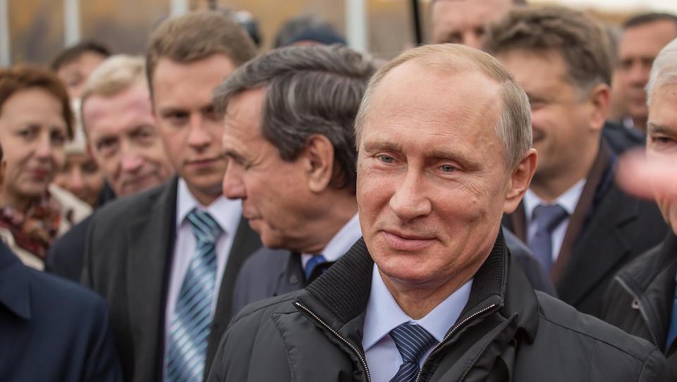Prepričljiva zmaga Putina