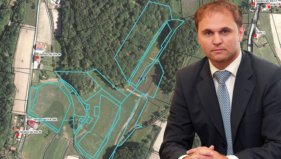 Kmetijske parcele Mateja Raščana prodane za 58 tisočakov